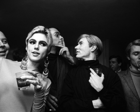 Edie Sedgwick and Andy Warhol © Billy Name /Reel Art Press