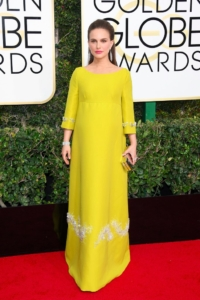 Natalie Portman en Prada, Red Carpet, Golden Globes