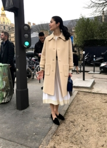 flur-magazine-paris-fashion-week-clara-laborde-Caroline Issa Dior