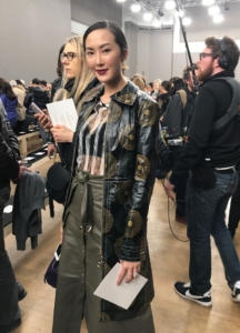 flur-magazine-paris-fashion-week-clara-laborde-Chriselle Lim Nina Ricci