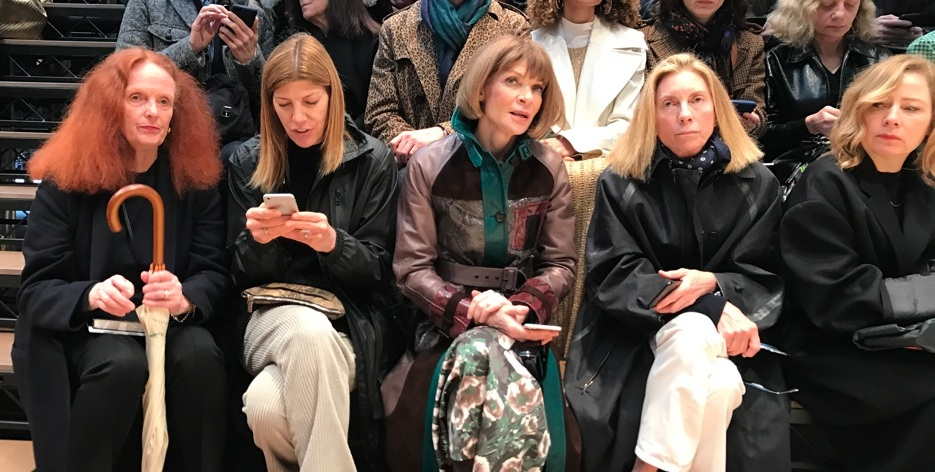 flur-magazine-paris-fashion-week-clara-laborde-Vogue Front Row en celine